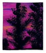 Colorful - Sunset Fleece Blanket