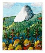 Colorful View Of Idyllwild California Fleece Blanket