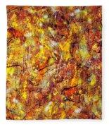 Colors In Motion Fleece Blanket