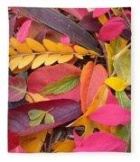 Colors Of Autumn Fleece Blanket