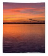 Colors Of Carolina Fleece Blanket
