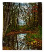 Colors Of Fall Fleece Blanket