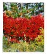 Colors Of Life Fleece Blanket