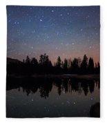 Colors Of Night Fleece Blanket