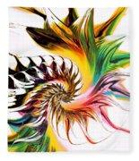 Colors Of Passion Fleece Blanket