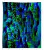 Colors Of The Night Fleece Blanket