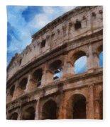 Colosseo Fleece Blanket