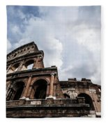 Colosseum  Rome, Italy Fleece Blanket