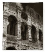 Colosseum Wall Fleece Blanket
