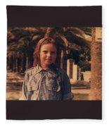 Colour Original Photography Colette Summer Diano Marino 67 Italy  Fleece Blanket