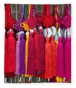 Colourful Souvenirs In China Fleece Blanket