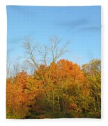 Colourful Time Fleece Blanket