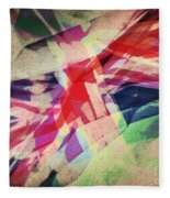 Colours Of A Kingdom Fleece Blanket