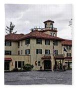 Columbia Gorge Hotel Fleece Blanket