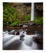 Columbia Gorge Richness Fleece Blanket
