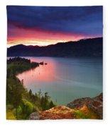 Columbia Sunset Fleece Blanket