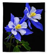 Columbine Duet Fleece Blanket