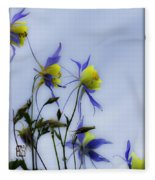 Columbines Fleece Blanket