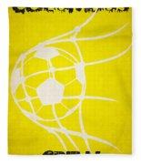 Columbus Crew Goal Fleece Blanket