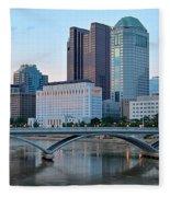 Columbus Panorama Fleece Blanket