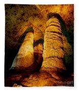 Dome And  Column Fleece Blanket