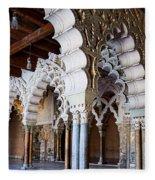 Columns And Arches No2 Fleece Blanket