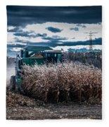 Combining Corn Fleece Blanket