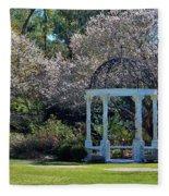 Come Into The Garden Fleece Blanket