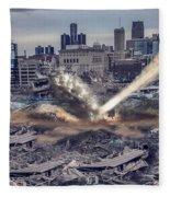 Comerica Park Asteroid Fleece Blanket