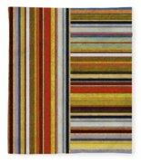 Comfortable Stripes Lx Fleece Blanket