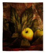Comfy Apples Fleece Blanket