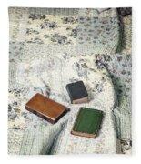 Comfy Reading Time Fleece Blanket