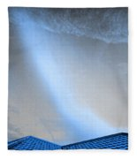 Coming Down To Earth  Fleece Blanket