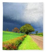 Coming This Way Fleece Blanket