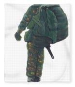 Commando 02 Fleece Blanket