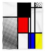 Composition 100 Fleece Blanket