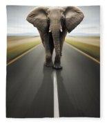 Heavy Duty Transport / Travel By Road Fleece Blanket