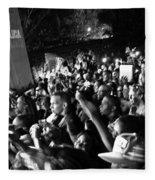 Concert Crowd Fleece Blanket
