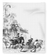 Concord: Minutemen, 1775 Fleece Blanket
