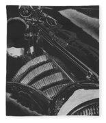 Concours At Dusk 1935 Auburn Speedster Fleece Blanket