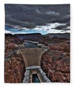Concrete Canyon Fleece Blanket