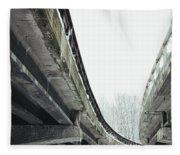 Concrete Jungle Fleece Blanket