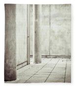 Concrete Space Fleece Blanket