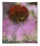 Cone Of Beauty Art Fleece Blanket