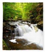 Conestoga Falls Fleece Blanket