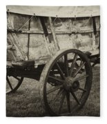 Conestoga Wagon Fleece Blanket