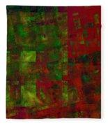 Confetti - Abstract - Fractal Art Fleece Blanket