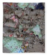 Confetti Graffiti Fleece Blanket