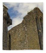 Cong Abbey, Ireland Fleece Blanket