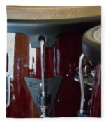 Congas Fleece Blanket